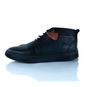 Chaussure Bottine Homme 100% Cuir - Noir